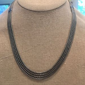 KEEP Collective Silver Multi-strand Necklace